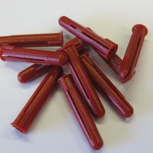 Red Plastic Plugs