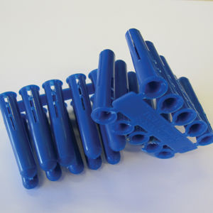 Blue Plastic Plugs