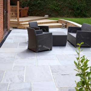 Silver grey sandstone 14.85m2 project pack