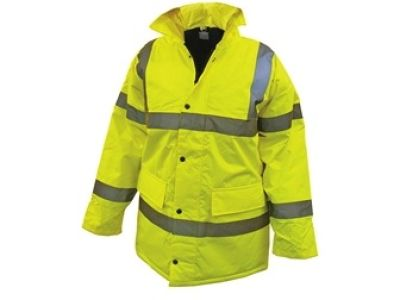 Waterproof High Vis Motorway Jacket