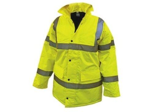 Waterproof High Vis Motorway Jacket