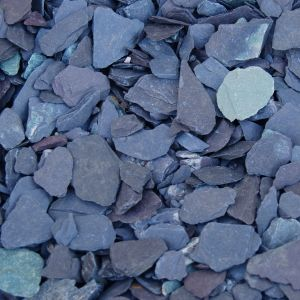 CRUSHED BLUE SLATE 20MM