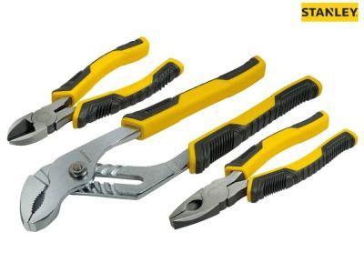 Stanley STA074471 ControlGrip Pliers Set - 3 Piece