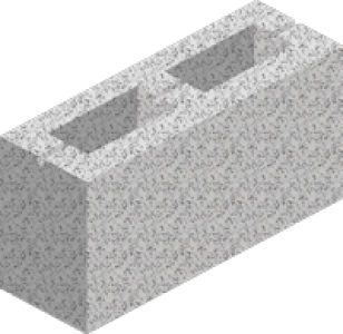 Hollow Concrete Blocks (7n/mm)