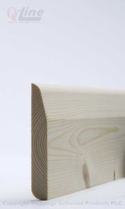 Chamfered / Pencil Rounded Skirting