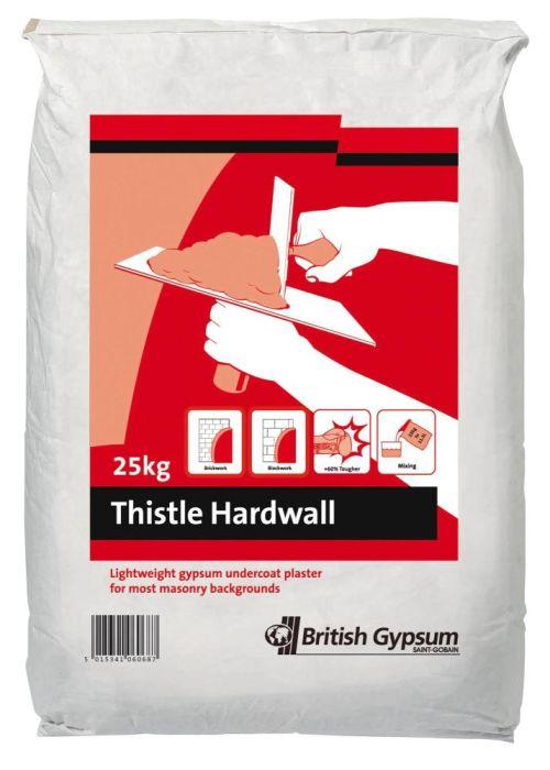 Thistle Hardwall Plaster 25Kg Bag