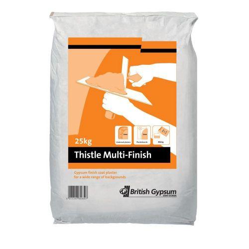 Thistle Multi Finish Plaster 25Kg
