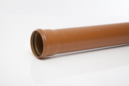 Underground Single Socket Pipe 110mm